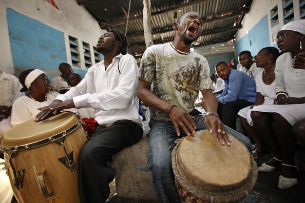 Haitian Voodoo Drumming